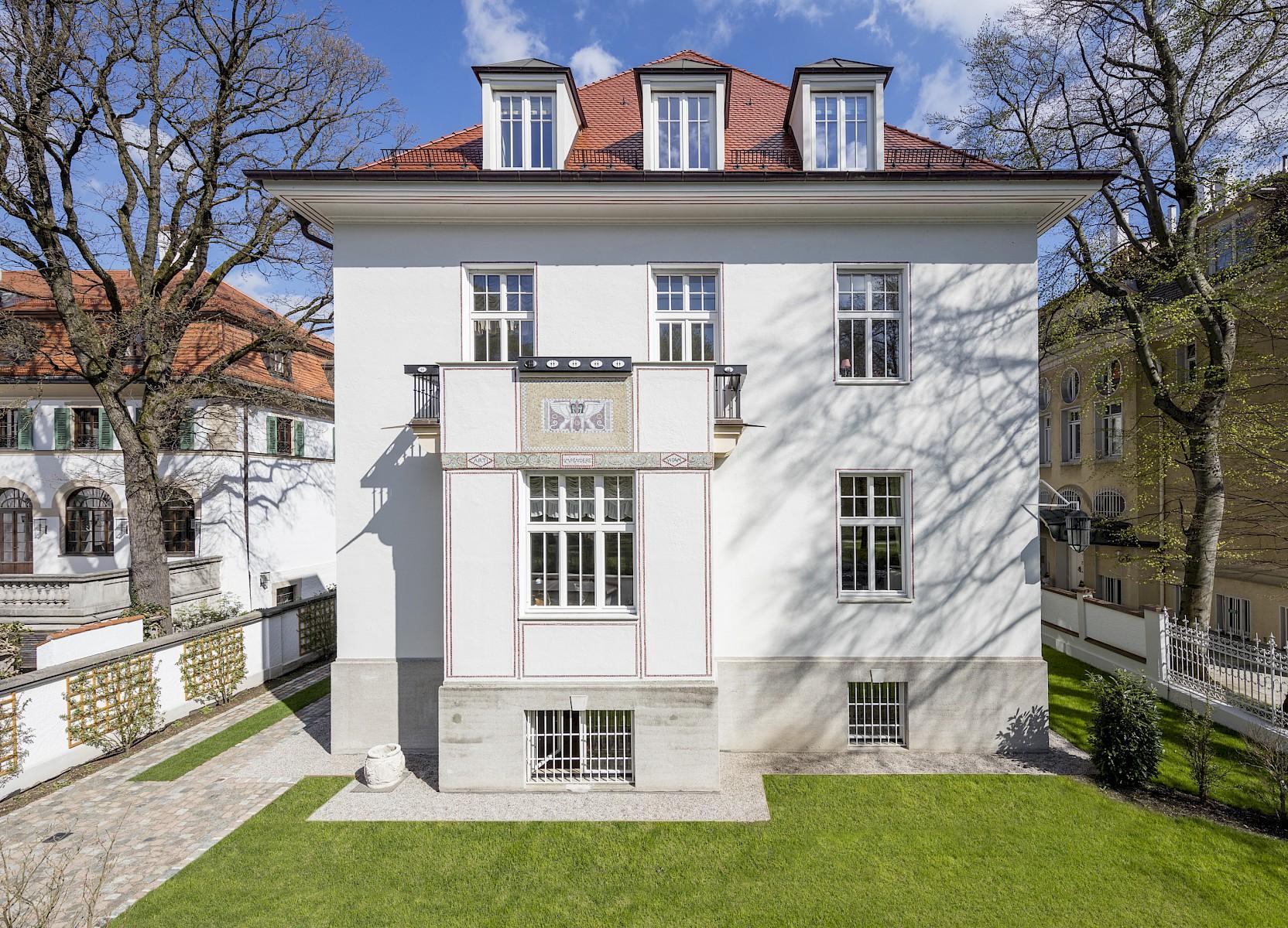 Meier scupin architekten projektauswahl umbau einer jugendstilvilla in bogenhausen - Bgf architekten ...